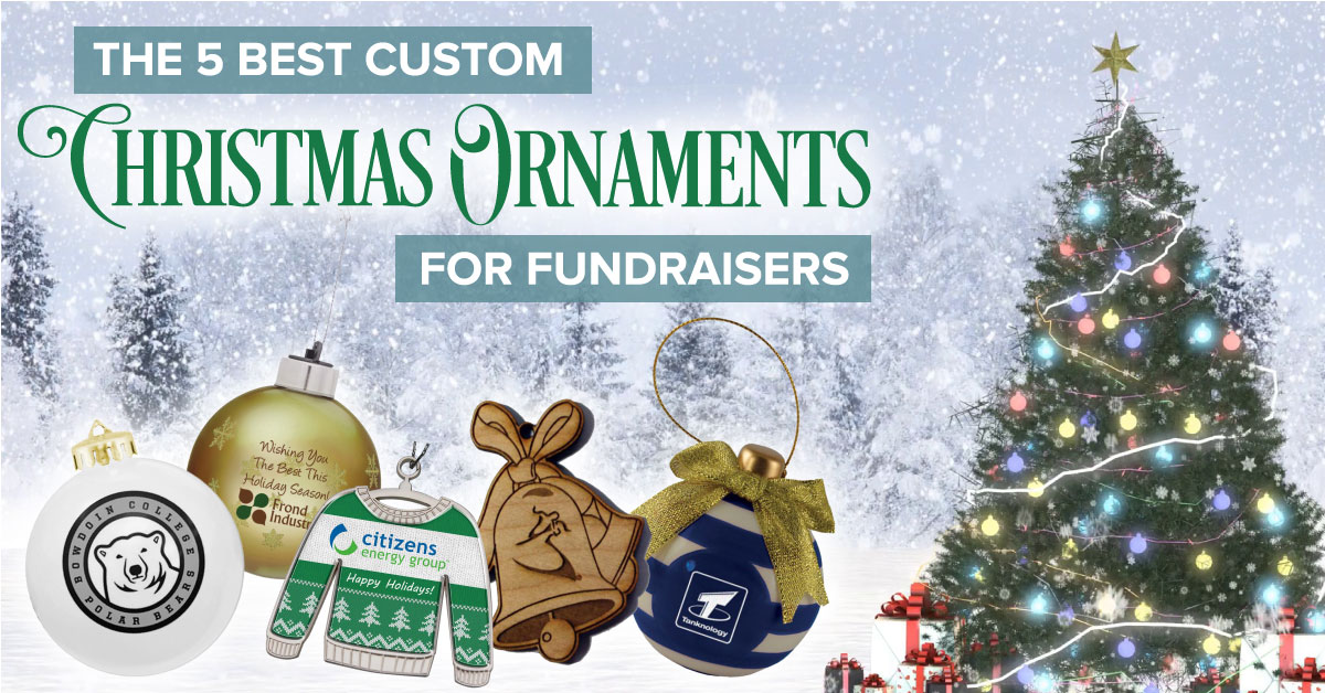 5 Best Custom Christmas Ornaments for Fundraisers
