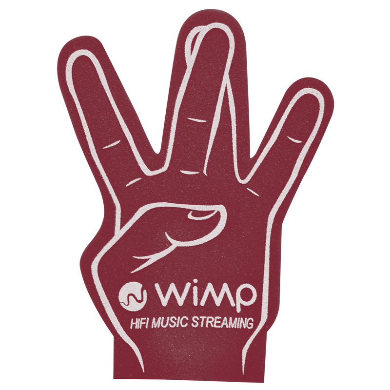 5991a86682 The 10 Most Popular Foam Hands and Their Meanings (Aside From the  1 ...