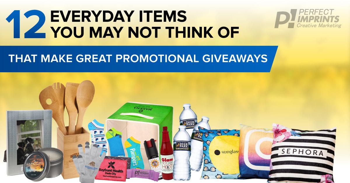 12 Everyday Promo Items