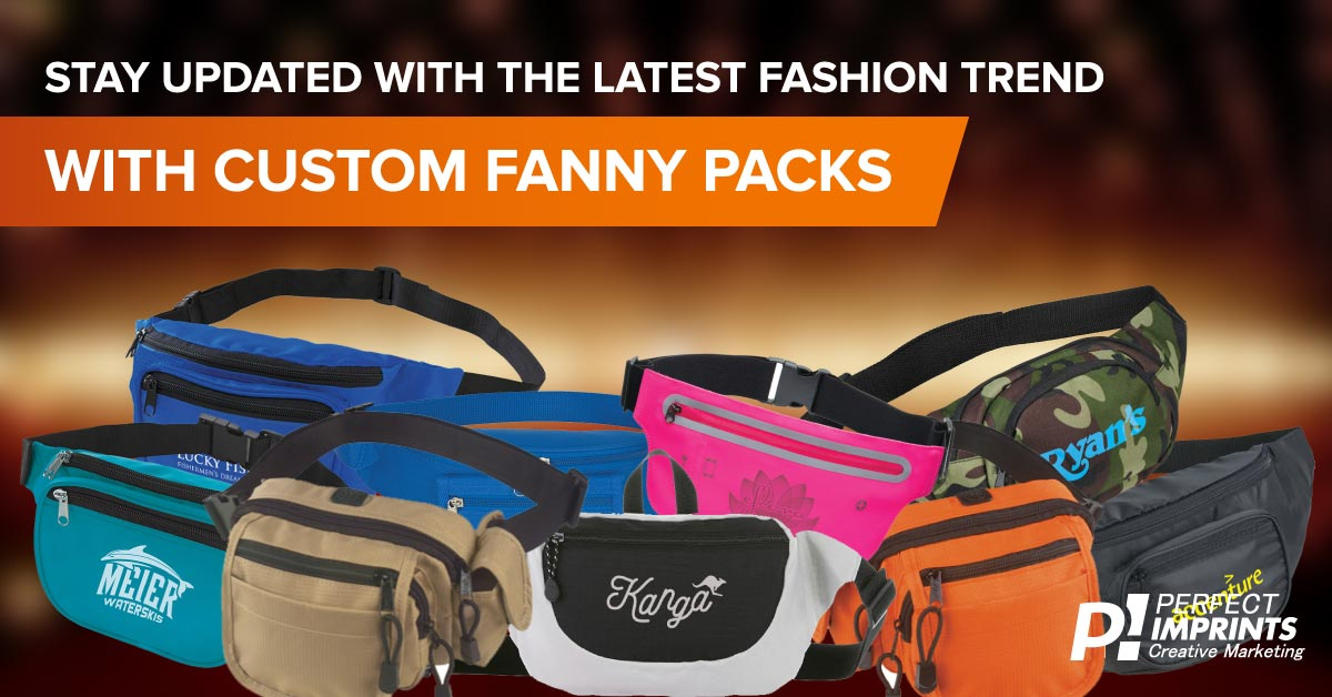 Custom Fanny Packs align with current fashion trends
