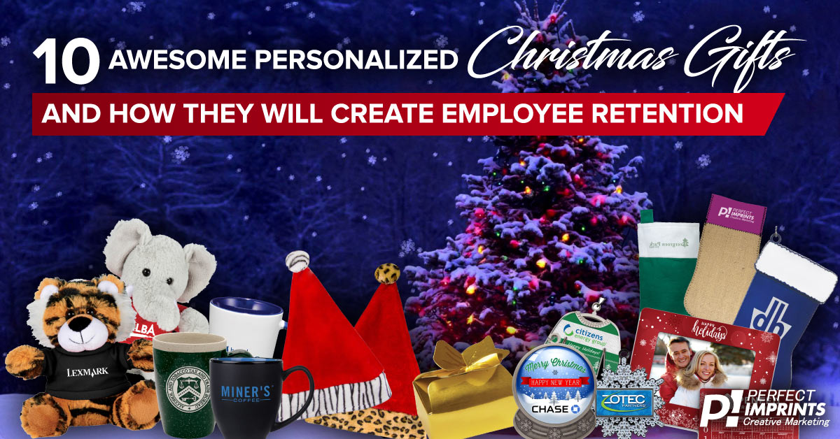 10 Personalized Christmas Gifts to Increase Employee Retention