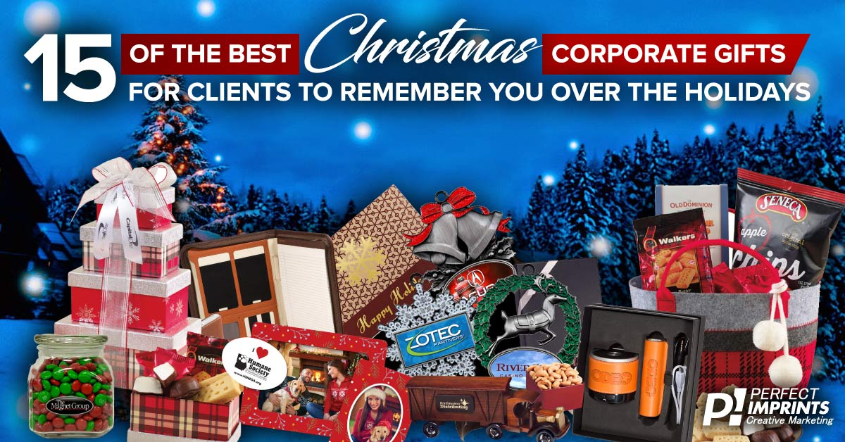 15 Ideas for Corporate Christmas Gifts