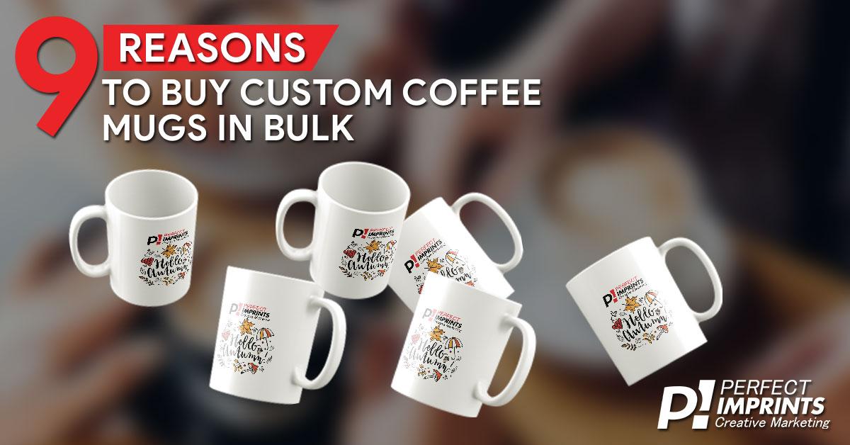 Custom Coffee Mugs in Bulk