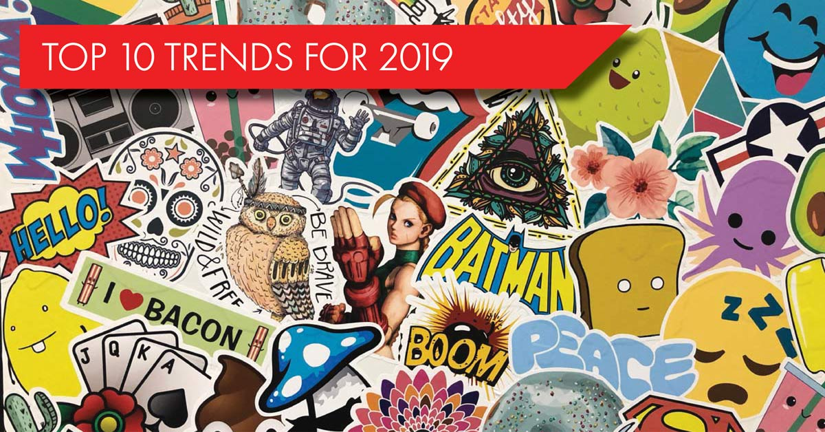 Top 10 Promotional Products Trends for 2019