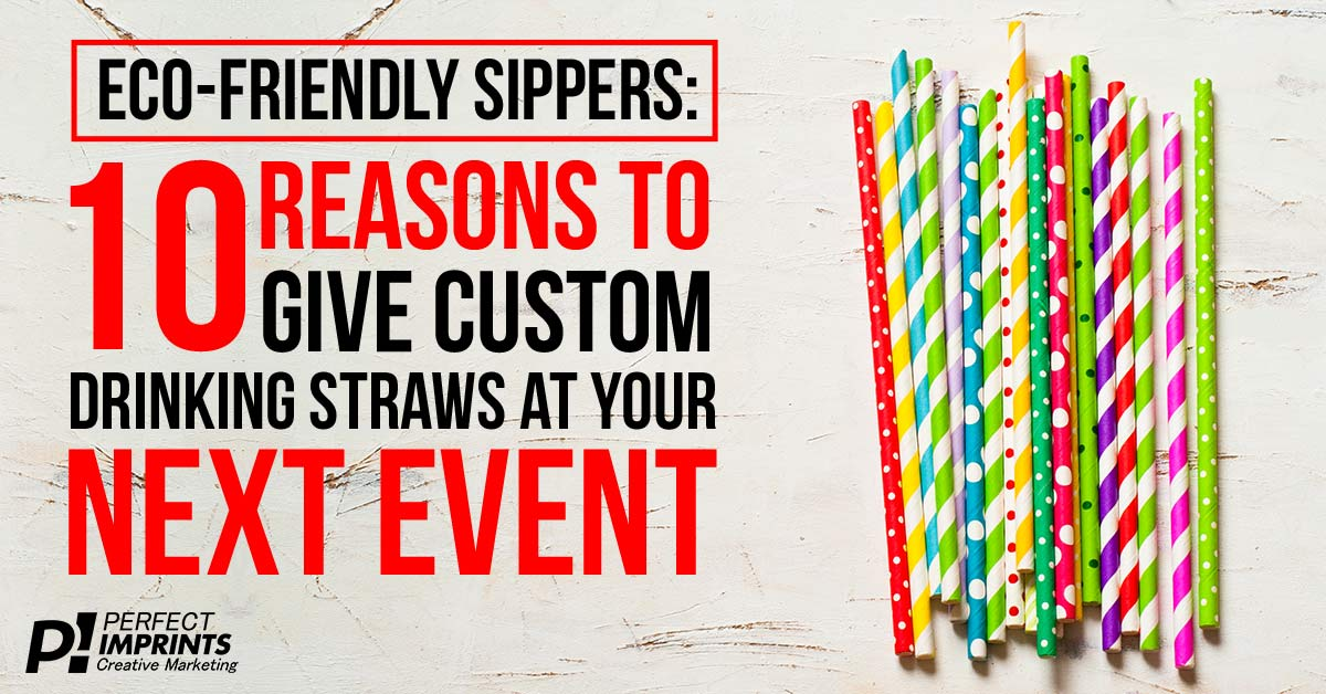 Custom Printed Straws