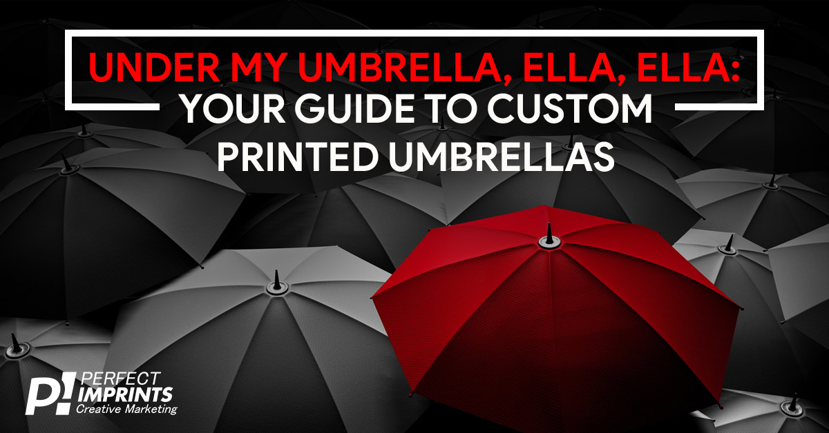 Custom Printed Umbrellas
