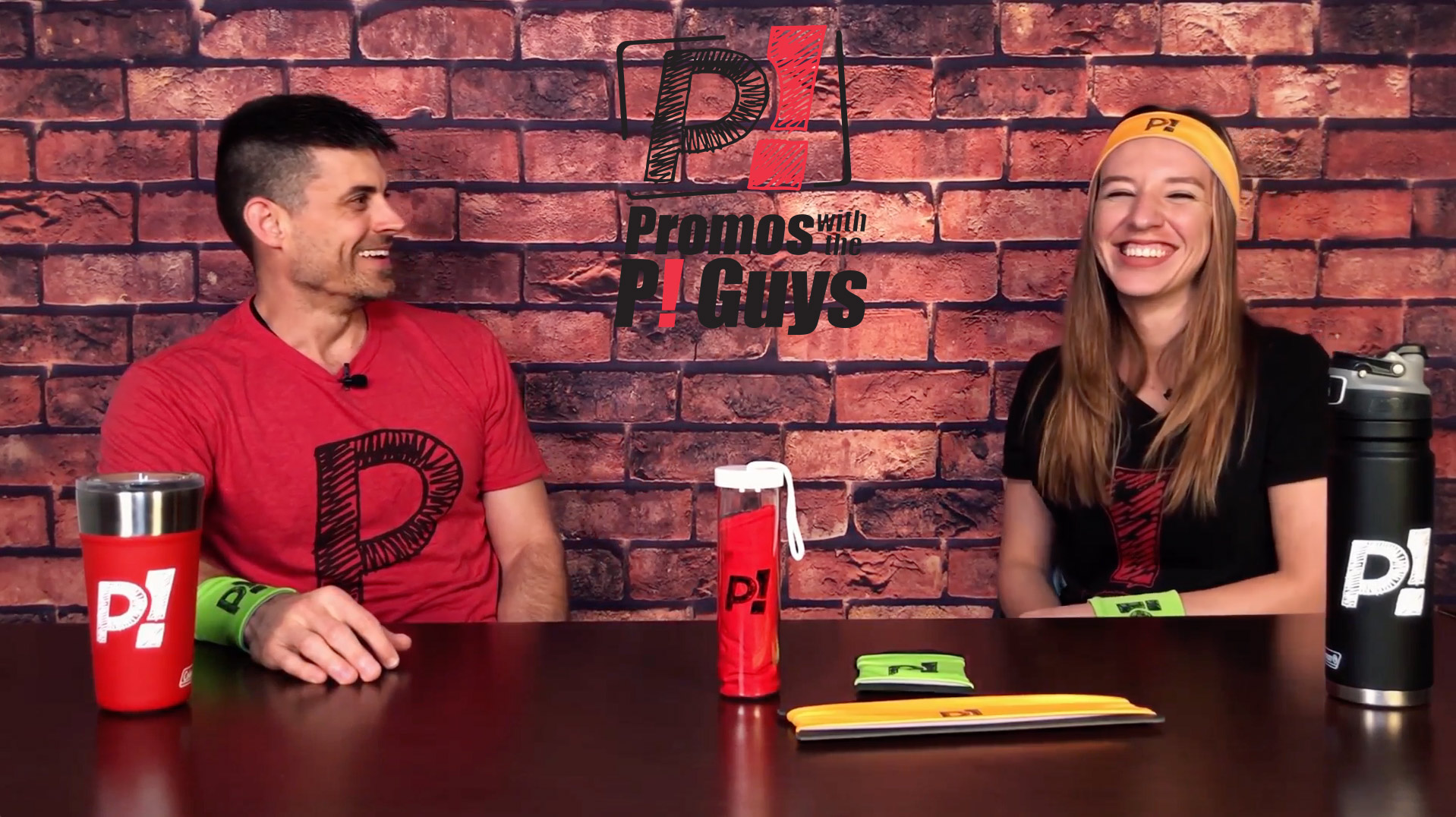 Promos with the P! Guys - Episode 18 - Custom Cooling Towels