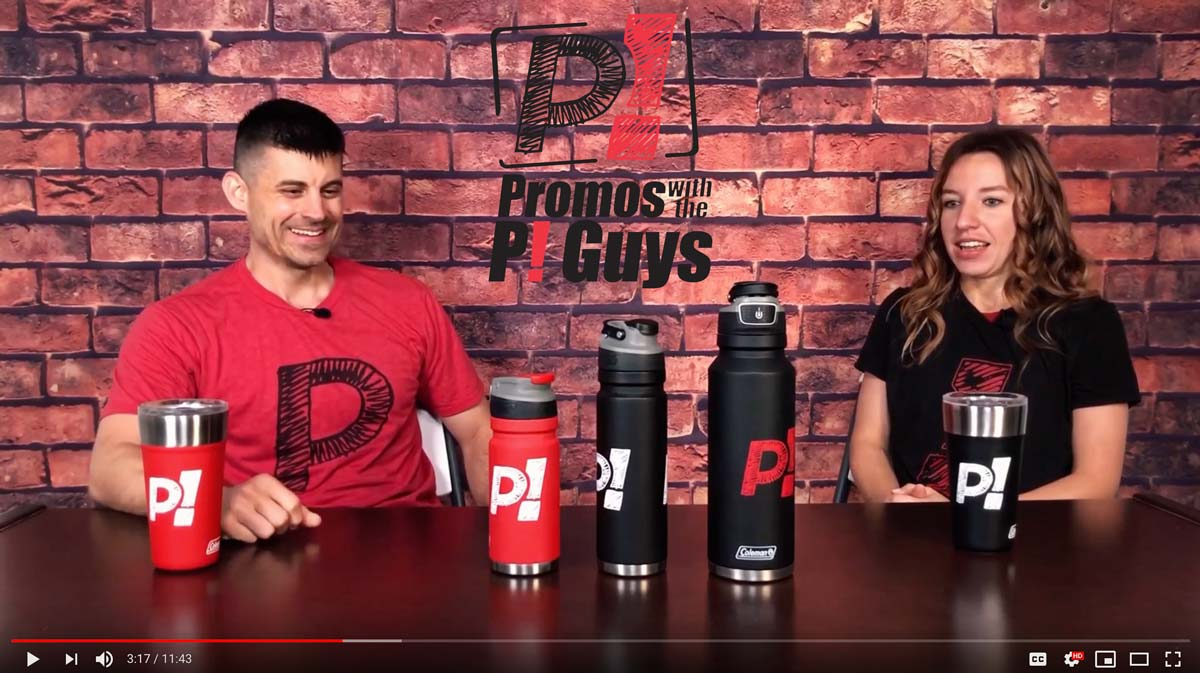 Promos with the P! Guys - Episode 17 - Coleman Water Bottles