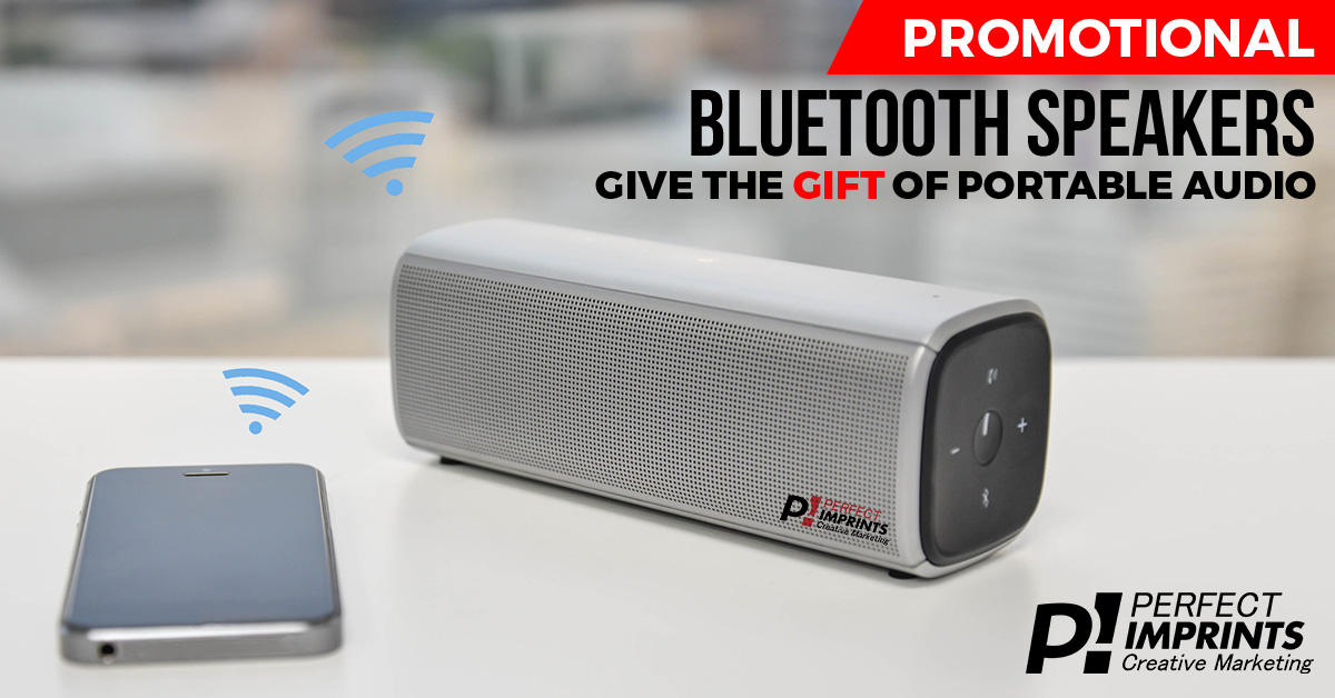 Promotional Bluetooth Speakers: Give the Gift of Portable Audio