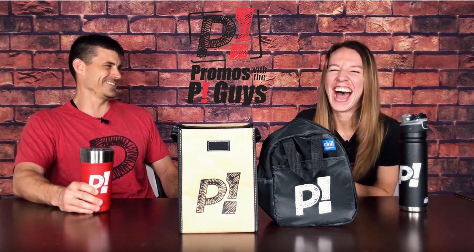 Promos with the P! Guys - Episode 27 - Custom Lunch Bags