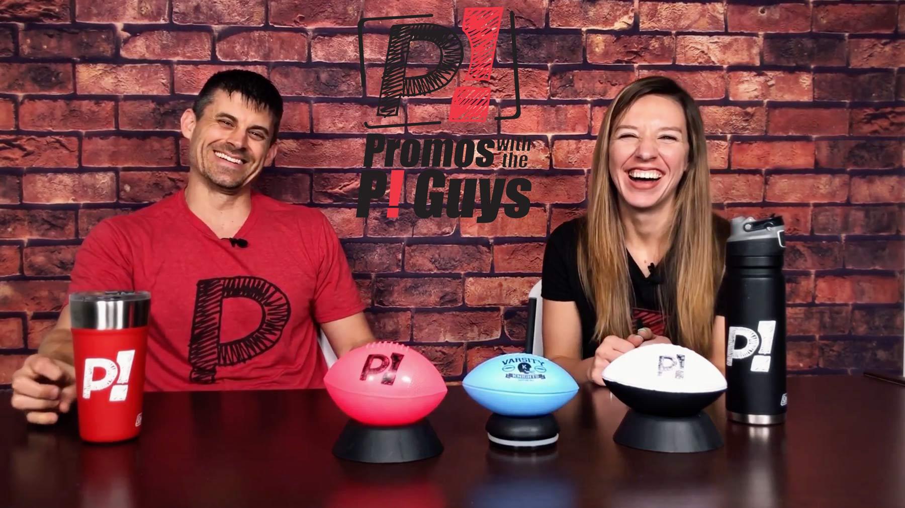 Promos with the P! Guys - Episode 31 - Custom Mini Footballs