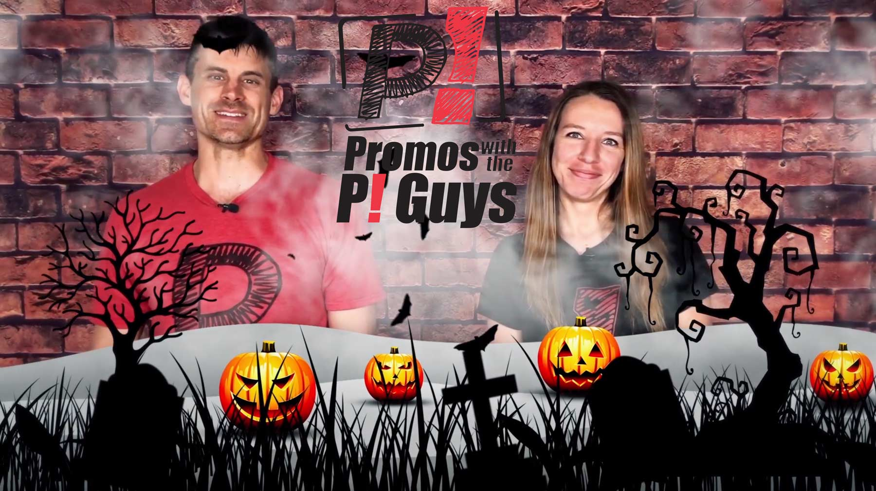Promos with the P! Guys - Episode 30 - Halloween Candy Buckets