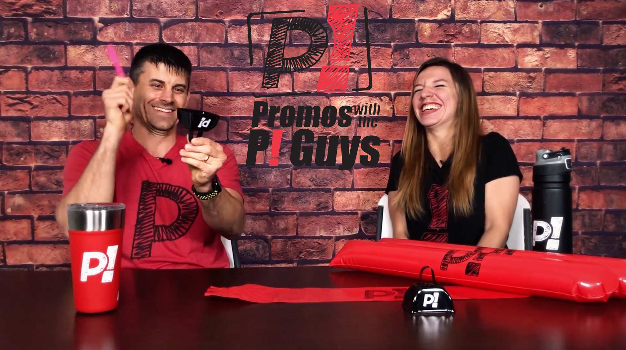 Promos with the P! Guys - Episode 32 - Thundersticks Noisemakers