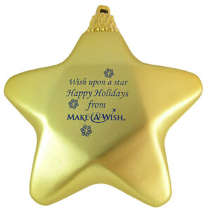 24-hour rush Star Shaped Shatterproof Christmas Ornaments