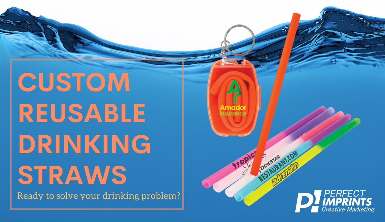 Custom Reusable Drinking Straws