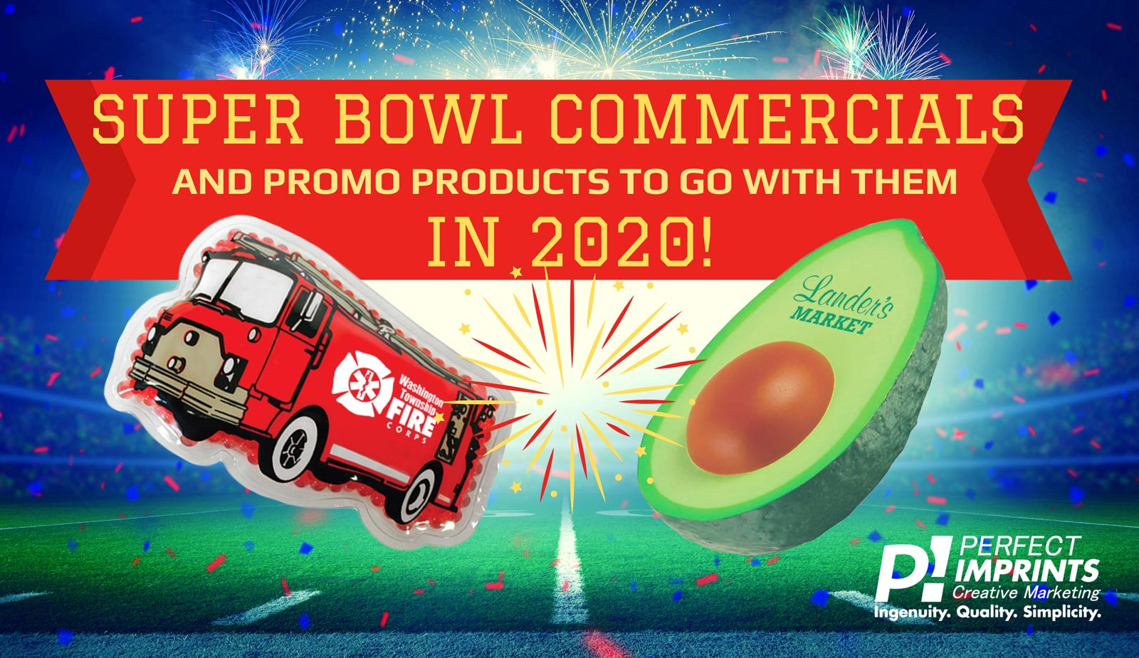 Promotional Items for the Super Bowl 2020