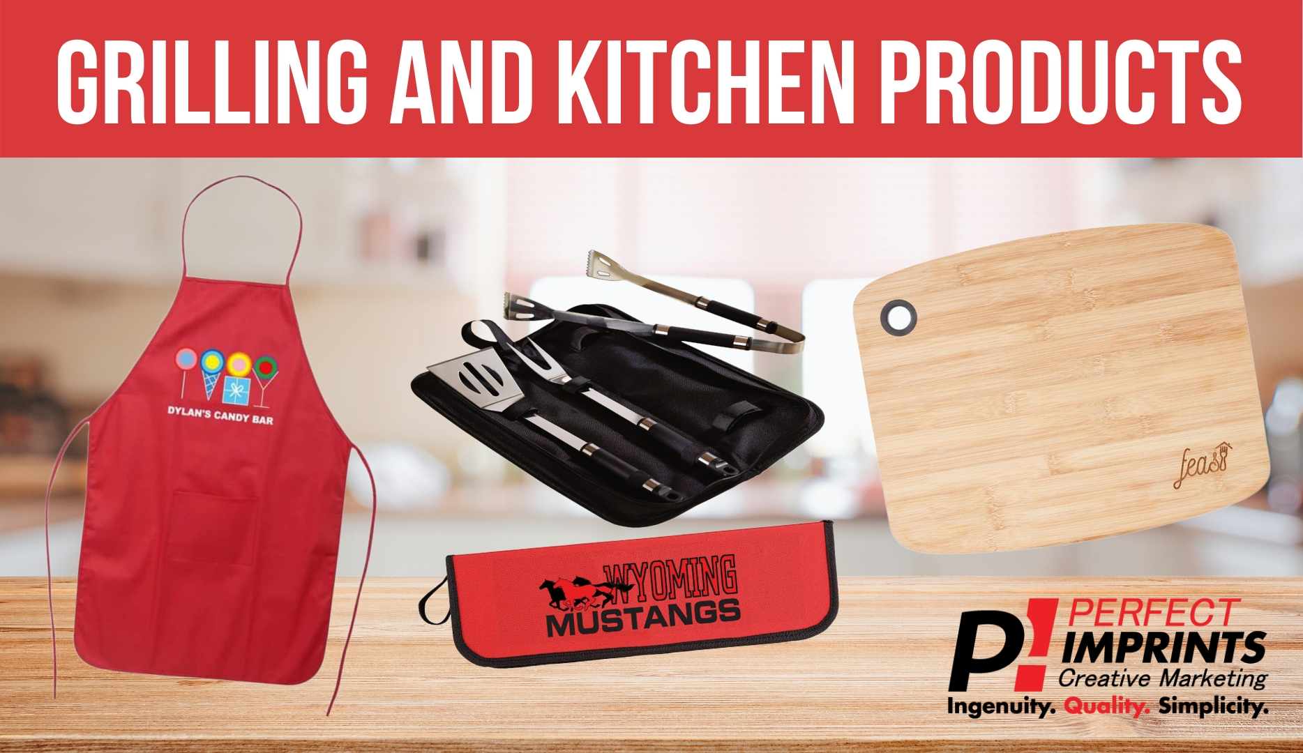 Summer Promotions with Grilling and Kitchen Products