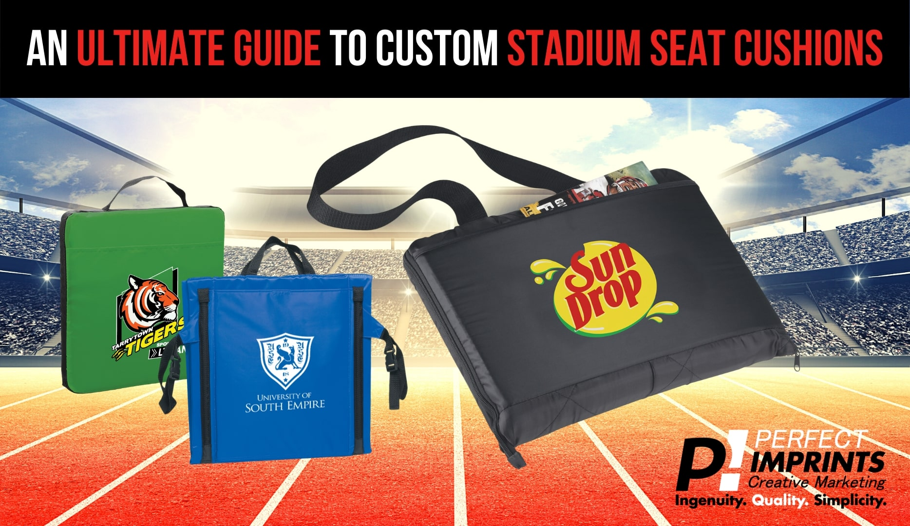 A Guide To Custom Stadium Seat Cushions