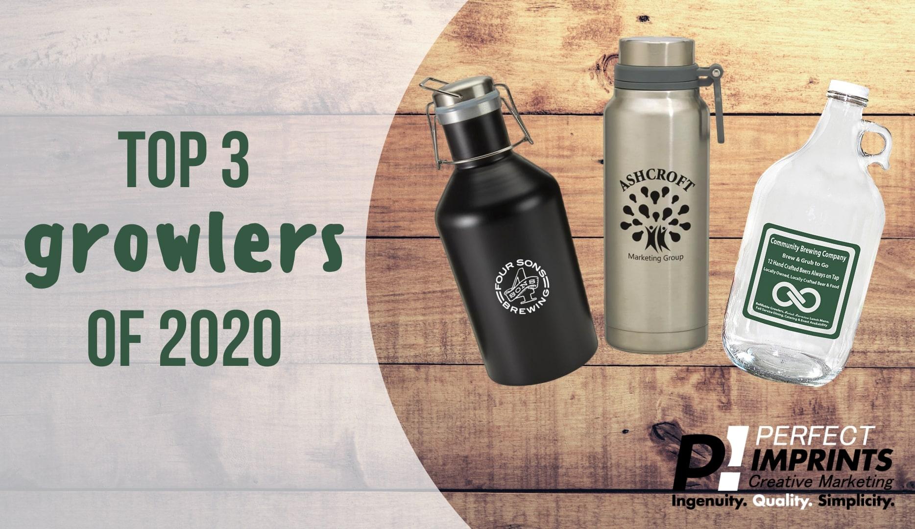 Top 3 Branded Growlers of 2020
