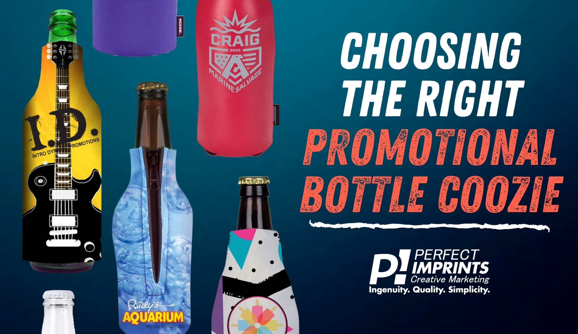 Choosing the Right Promotional Bottle Coozie