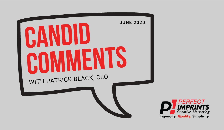 Candid Comments June 2020
